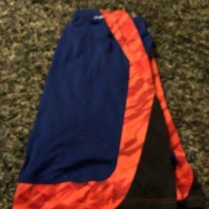 Mens Orange& Blue Adidas Shorts